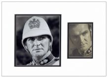 Stanley Baker Autograph Signed Photo Display - Zulu